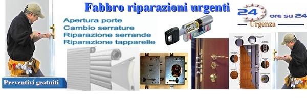 Fabbro Milano apertura porte
